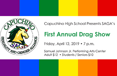 Capuchino's first Drag Performance