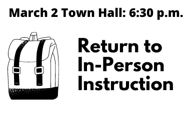Virtual Town Hall, 6:30 pm