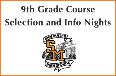 9th Grade Course Selection and Info Nights