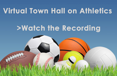 Recording - Virtual Town Hall on Athletics