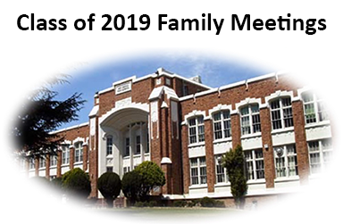 Click here for information on Class of 2019 Junior Family Informational Nights
