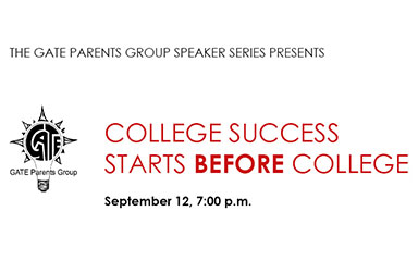 Free seminar: College Success Starts BEFORE College, September 12