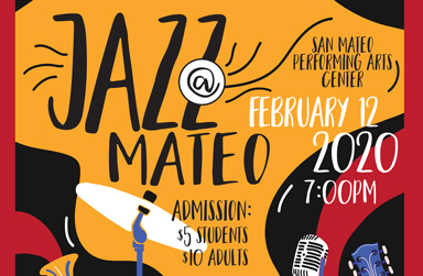 Jazz at Mateo concert on Feb 12