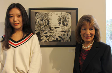 San Mateo High School Student Wins Congressional Arts Competition
