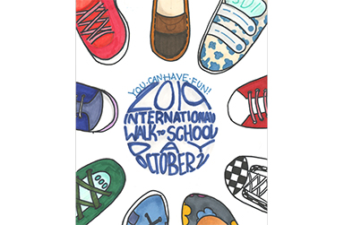 San Mateo High School 9th Grader Wins Poster Contest