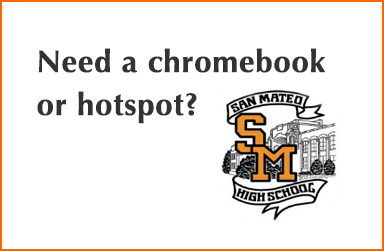 Need a chromebook or hotspot?