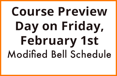 Click here for information on Course Preview Day