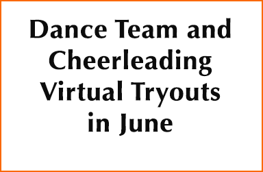 Dance Team and Cheerleading Virtual Tryouts