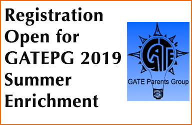 Registration Open for GATEPG 2019 Summer Enrichment Courses
