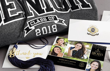 The deadline to order your graduation items is on January 27th, 2018