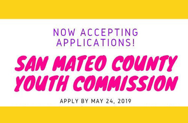San Mateo County Youth Commission Now Accepting Applications. Deadline is May 24.