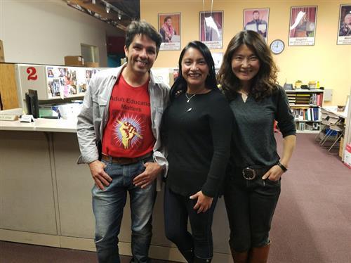 Three Student Leaders