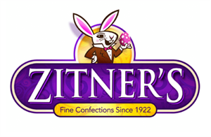 Zitner's Fine Confections since 1922 with bunny rabbit