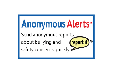 Anonymous Alerts - Send anonymous reports about bullying and safety concerns quickly