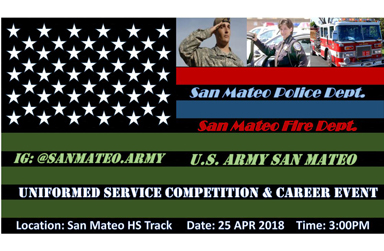April 25: Public Service Competition/Career Event at SMHS - Open to all District Students