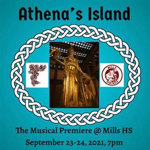 Athena's Island Musical Poster
