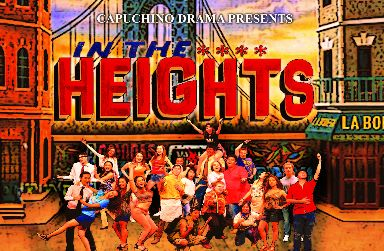 In the Heights Upper Half of Promotional Poster