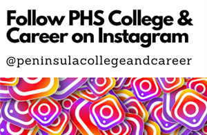 Follow PHS College and Career on Instagram