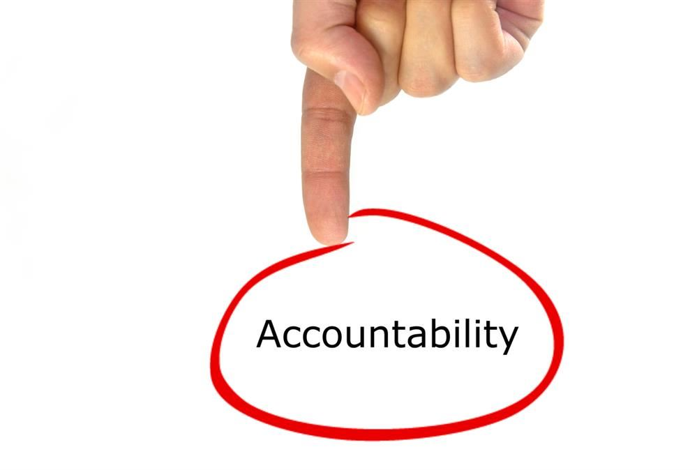 iStock_Finger Pointing to Word Accountability