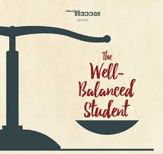 "scale with words ""the Well-balanced Student"""