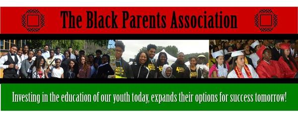 Black Parents Association banner