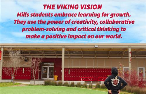 Viking Vision: MIlls Students embrace learning for growth.